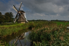 Traditional Frisian Windmill