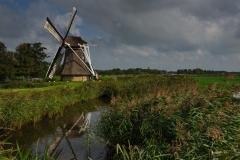 Traditional Frisian Windmill